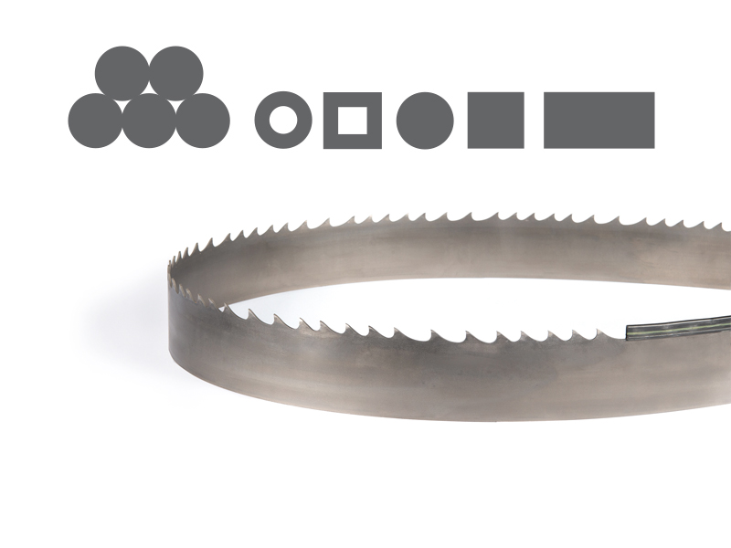 Picture of the Penetrator Prime Bi-Metal band saw blade