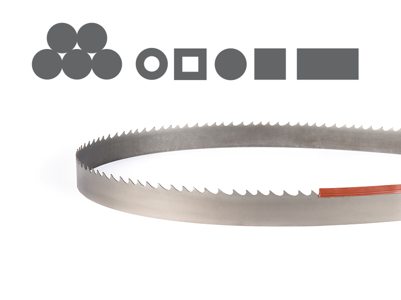 Picture of the Penetrator Bi-Metal band saw blade