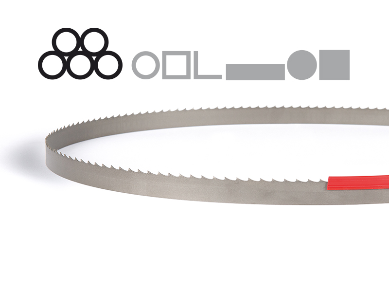 Picture of the Silencer Plus Bi-Metal band saw blade