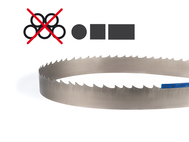 Picture of the Supreme Bi-Metal band saw blade