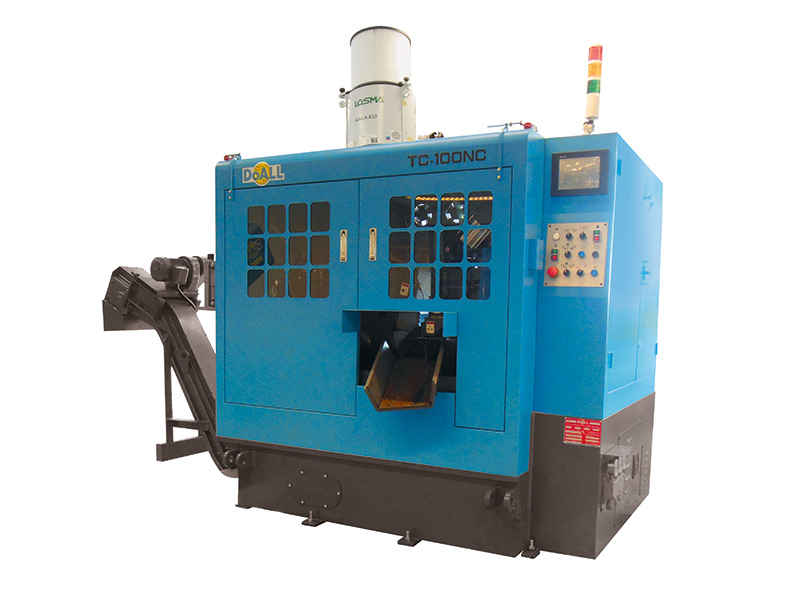 Picture of the TC-100NC circular sawing machine