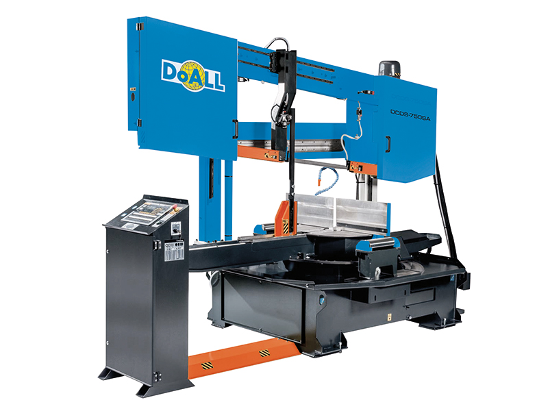 Picture of the DCDS-750SA doall general purpose band sawing machine