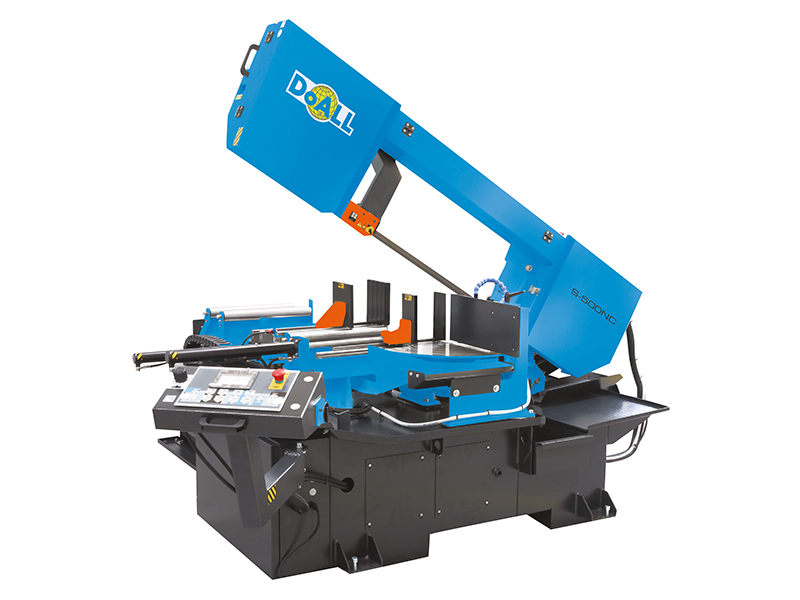 Picture of the S-500NC doall general purpose band sawing machine