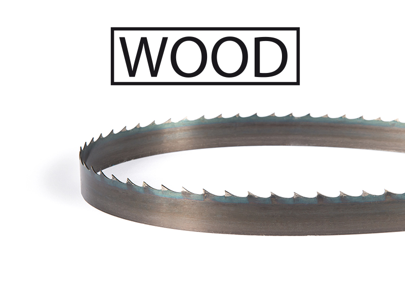 Picture of the Olympia Carbon steel band saw blade