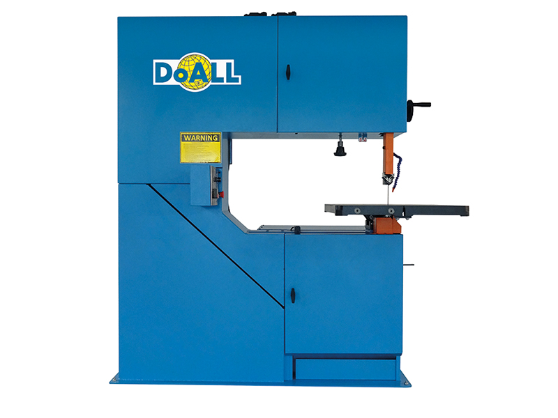 picture of the 3613-V3 doall vertical contour sawing machine