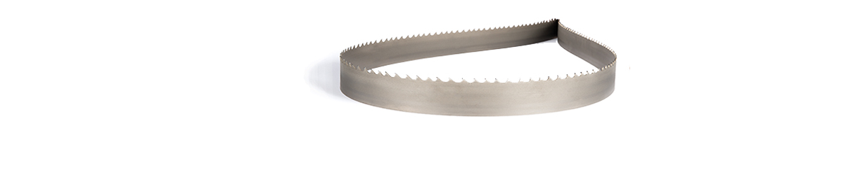 Picture of a tungsten carbide band saw blade