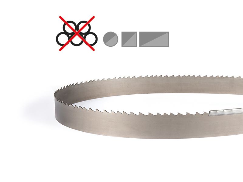 Picture of the T3P tungsten carbide band saw blade