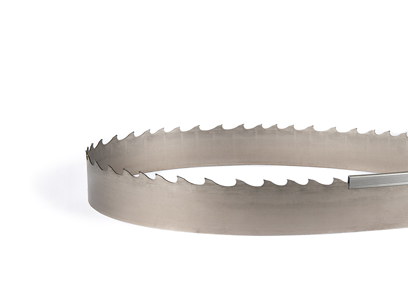 Picture of the T7P tungsten carbide band saw blade