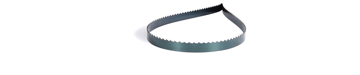 Picture of a Carbon steel band saw blade