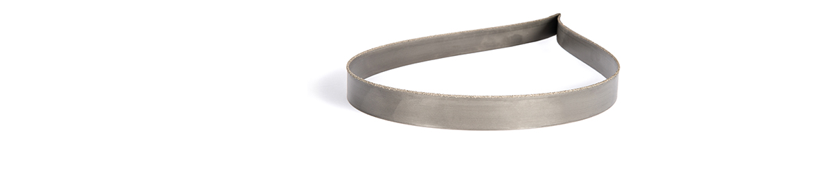 Picture of a tungsten grit band saw blade