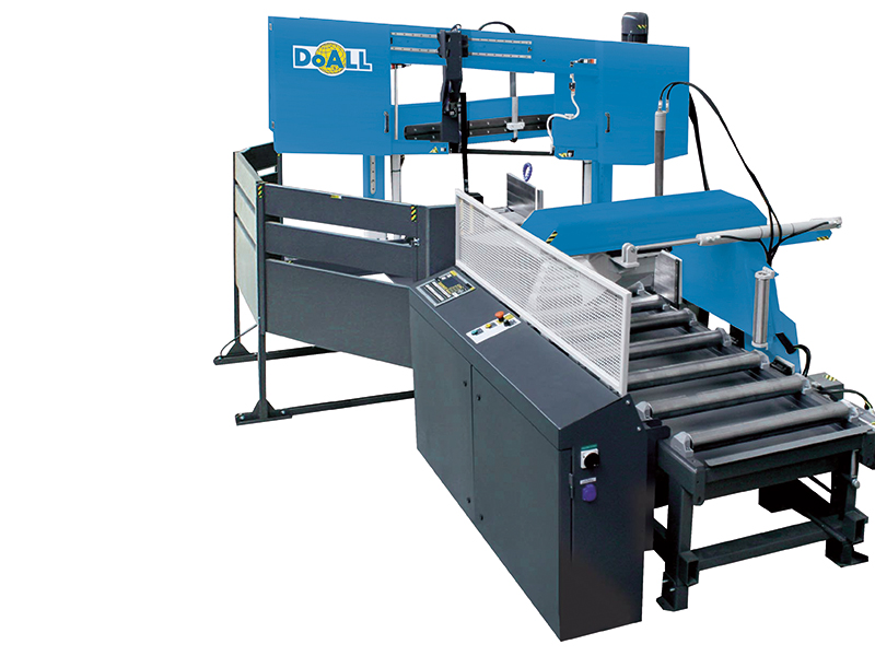 Picture of the DCDS-750NC doall general purpose band sawing machine
