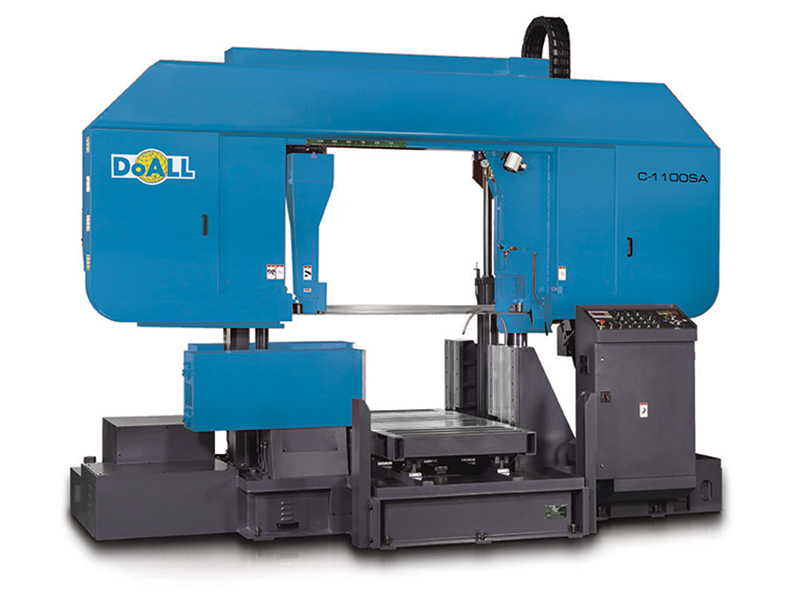 Picture of the C-1100SA Utility Line sawing machine